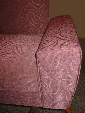1950s reupholstery project