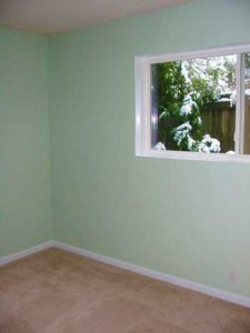 expertly painted room by Ann Compton