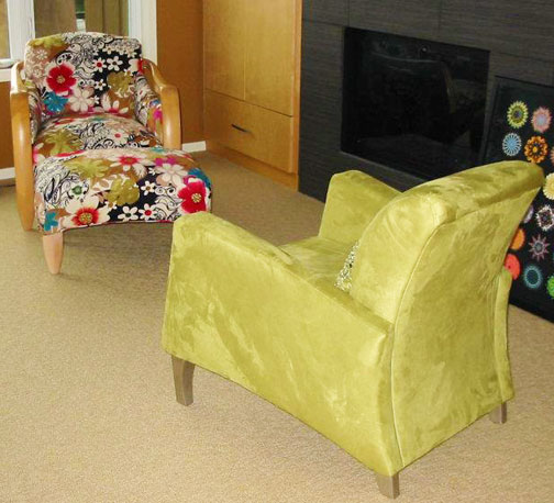 upholstered chairs for Hoskins